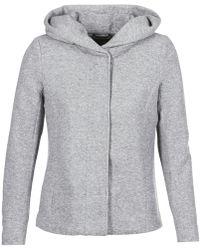 ONLY - Onlsedona Women's Coat In Grey - Lyst