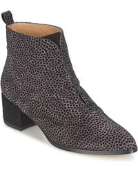 Fericelli - Rofila Women's Low Ankle Boots In Grey - Lyst