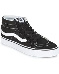 b6e4e06b54e Vans - Sk8-mid Reissue Men s Shoes (high-top Trainers) In Black