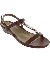 Vionic - Port Cali Women's Sandals In Brown - Lyst