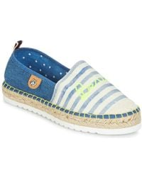 Banana Moon | Renze Women's Espadrilles / Casual Shoes In Blue | Lyst