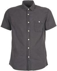 Quiksilver - Timebox Men's Short Sleeved Shirt In Black - Lyst