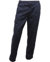 e990a0dcc8b2f0 Regatta - Mens New Lined Action Trousers (reg) Trousers Men's Trousers In  Blue -