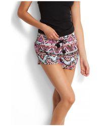 Seafolly - , Sahara Nights Boardshorts Women's Shorts In Pink - Lyst