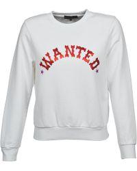 American Retro - Mirko Women's Sweatshirt In White - Lyst