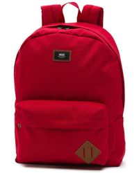 Backpack Skool Mochila Men's Vans Old Red Schuhe In Lyst nWRTHW