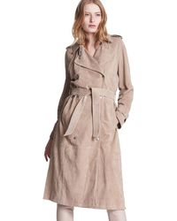 Max & Moi - Trench Coat Pinup Beige Woman Spring/summer Collection 2018 Women's Trench Coat In Beige - Lyst