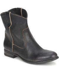 NDC - San Manuel Camarra Slavato Women's Mid Boots In Black - Lyst