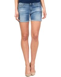 Gas - 375178 Shorts Women Blue Women's Shorts In Blue - Lyst