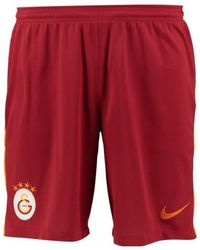 Nike - 2017-2018 Galatasaray Home Shorts Women's Shorts In Red - Lyst