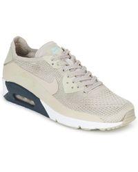 nike air max 90 ultra flyknit scarpe da uomo (formatori) in beige