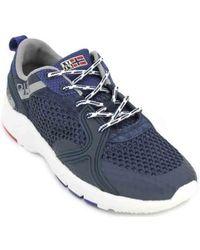 9532f97ba81 Napapijri - Optima Sneakers de Hombre hommes Chaussures en bleu - Lyst