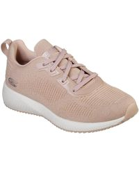 9e0ddf5a208 Skechers - Bobs Squad Total Glam Women s Shoes (trainers) In Pink - Lyst