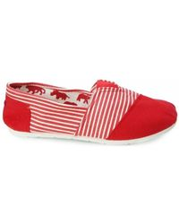 Smith's - Tomsy Men's Shoes (trainers) In Red - Lyst