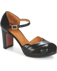 Stylish Chie Mihara Tashante Heels Black For Women Online Sale