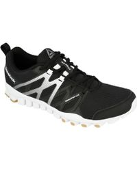 Reebok - Realflex Train 40 M Men's Shoes (trainers) In Black - Lyst