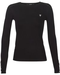 Guess - Elicia Women's Jumper In Black - Lyst