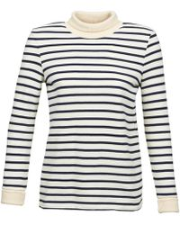 Petit Bateau - Solder Women's Sweater In White - Lyst