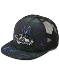 Vans - Classic Patch Plus Trucker Hat O2vpi3 Men s Cap In Black - Lyst dadf5498a0c6