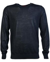 BOSS Black - Knitwear Jumper San Lorenzo 50323597 Men's Jumper In Black - Lyst