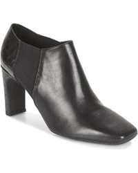 855deae390b73 Geox - D Vivyanne High Women's Low Boots In Black - Lyst
