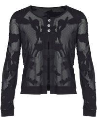 Mado Et Les Autres - Teddy Vest Revolution Black Woman Spring/summer Collection 2018 Women's In Black - Lyst