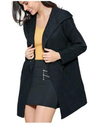 Infinie Passion - Black Thick Vest 00w060745 Women's Coat In Black - Lyst