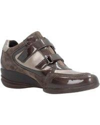 ab0e9a2669e3 Lyst - D SHAHIRA femmes Chaussures en Noir Geox en coloris Noir