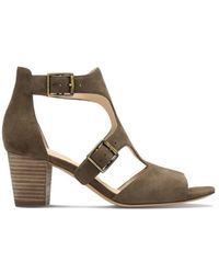 Clarks - Deloria Kay Women's Sandals In Brown - Lyst