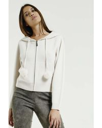 Max & Moi - Cardigan Nevada White Woman Autumn/winter Collection Women's In White - Lyst