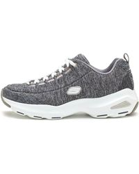 Skechers - D Lite Ultra Meditative Women Trainers In Grey 12294 Gry Women's Shoes (trainers) In Grey - Lyst