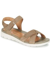 115671e9416423 Clarks - Un Saffron Women s Sandals In Brown - Lyst