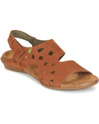 El Naturalista - Wakataua Women's Sandals In Brown - Lyst