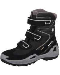 Lowa - Milo Gtx Hi 640540 9923 Schwarzhellgrau Textil Men's Snow Boots In Multicolour - Lyst