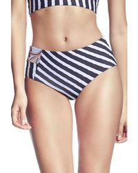 7c5ceab862ae Maaji - , Hig Waisted Bikini Bottom, Red - Cayenne Bardot Women's Knickers/ panties