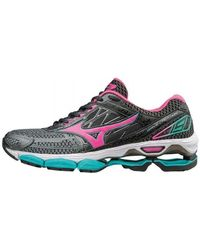 Mizuno - Wave Creation 19 Women's Shoes (trainers) In Green - Lyst