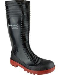 Dunlop | Acifort Ribbed Full Men's Wellington Boots In Black | Lyst