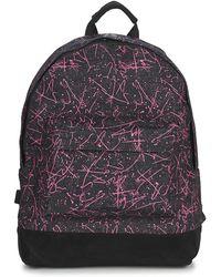 Mi-Pac - Denim Squiggle Women's Backpack In Black - Lyst