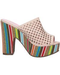 Brigitte Bardot - Bj242b Sabots Women's Sandals In Beige - Lyst
