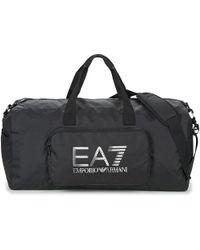 EA7 - Train Prime U Gym Bag A Women's Sports Bag In Black - Lyst