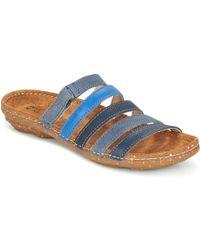 El Naturalista   El Viajero Women's Mules / Casual Shoes In Blue   Lyst