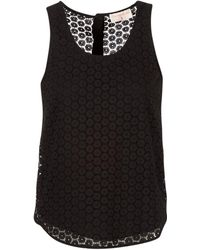 Moony Mood - Iguohiavine Women's Vest Top In Black - Lyst