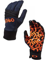 Oakley - Gants De Ski Factory Park Glove Fathom hommes Gants en bleu - Lyst