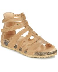 Think! - Dufde Women's Sandals In Beige - Lyst