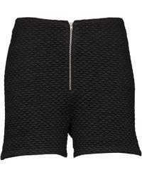 American Retro - Joseph S Women's Shorts In Black - Lyst