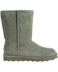 BEARPAW - Elle Short 1962w Women's Snow Boots In Grey - Lyst