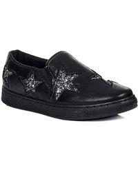 SPYLOVEBUY - Eccles Women's Slip-ons (shoes) In Black - Lyst