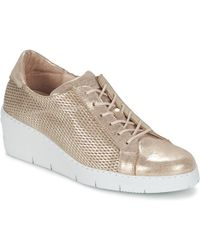 Hispanitas - Daoci Women's Shoes (trainers) In Gold - Lyst