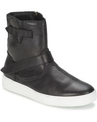 Ylati - Cappella Men's Mid Boots In Black - Lyst