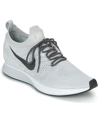 d9e86bee8a483 Nike - Air Zoom Mariah Flyknit Racer Men s Shoes (trainers) In White - Lyst
